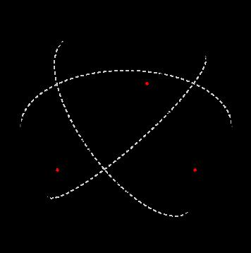 Repare que o triângulo formado entre os pontos A-B-C possui três ângulos  retos (90 graus). Portanto cddbf05fc45ce